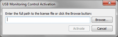 Activation Window